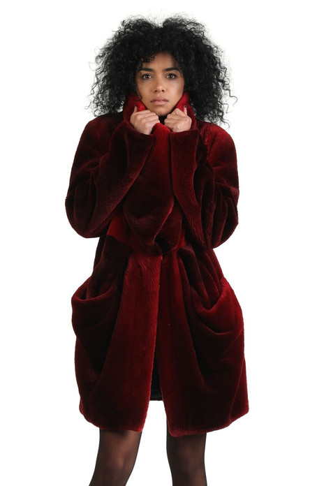 Rose Sheared Beaver Fur Coat