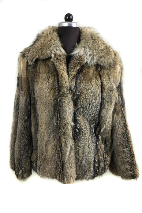 mens lynx fur coat