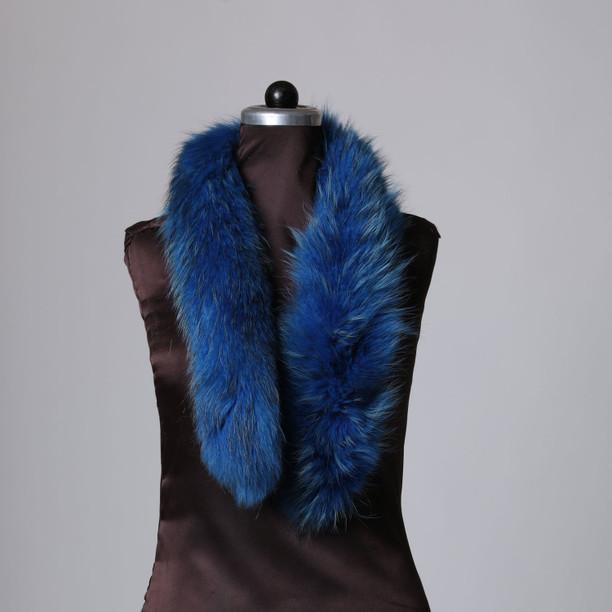 Blue Snowtop Fox Trim