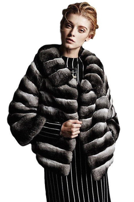 Finesse Chinchilla Fur Coat
