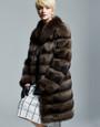 Exquisite Sable Fur Coat
