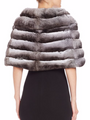 Chinchilla Fur Cape Elegant
