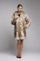 Hooded Bobcat  Lynx Fur Coat Emily
