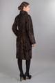 Brown Persian  Lamb Fur Coat  Angelique