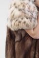 Bobcat Lynx & Sable  Fur Coat