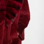Red Chinchilla & Mink Sheared Fur Coat