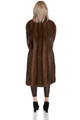 Brown Mink Fur Coat Fully Let out