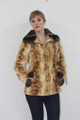 Mink Fur Jacket Chinchilla Collar & Cuffs