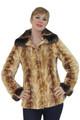 Mink Fur Jacket Chinchilla Collar & Cuffs