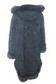 Black Persian Lamb Full Length Fox Trim Hood