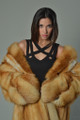Red Fox  4/5 Full Length Fur Coat