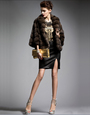 short sable fur jacket