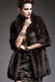 Elbow Sleeved  Sable Fur Stroller
