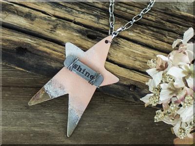 E170036 Shine Prim Star Necklace