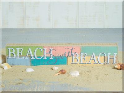 E17296 Beach Sweet Beach Pallet Sign