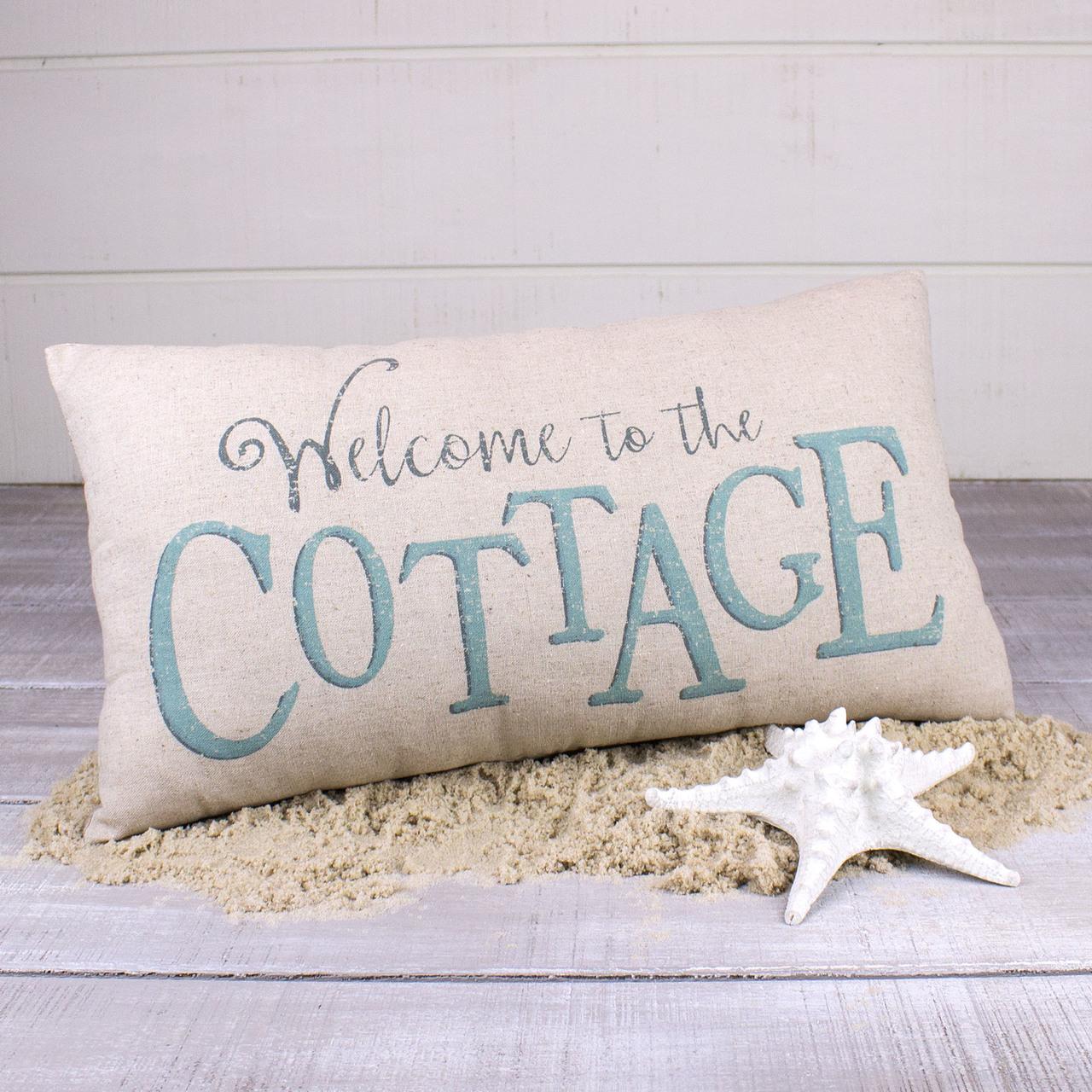 E18095 Welcome Cottage Decor