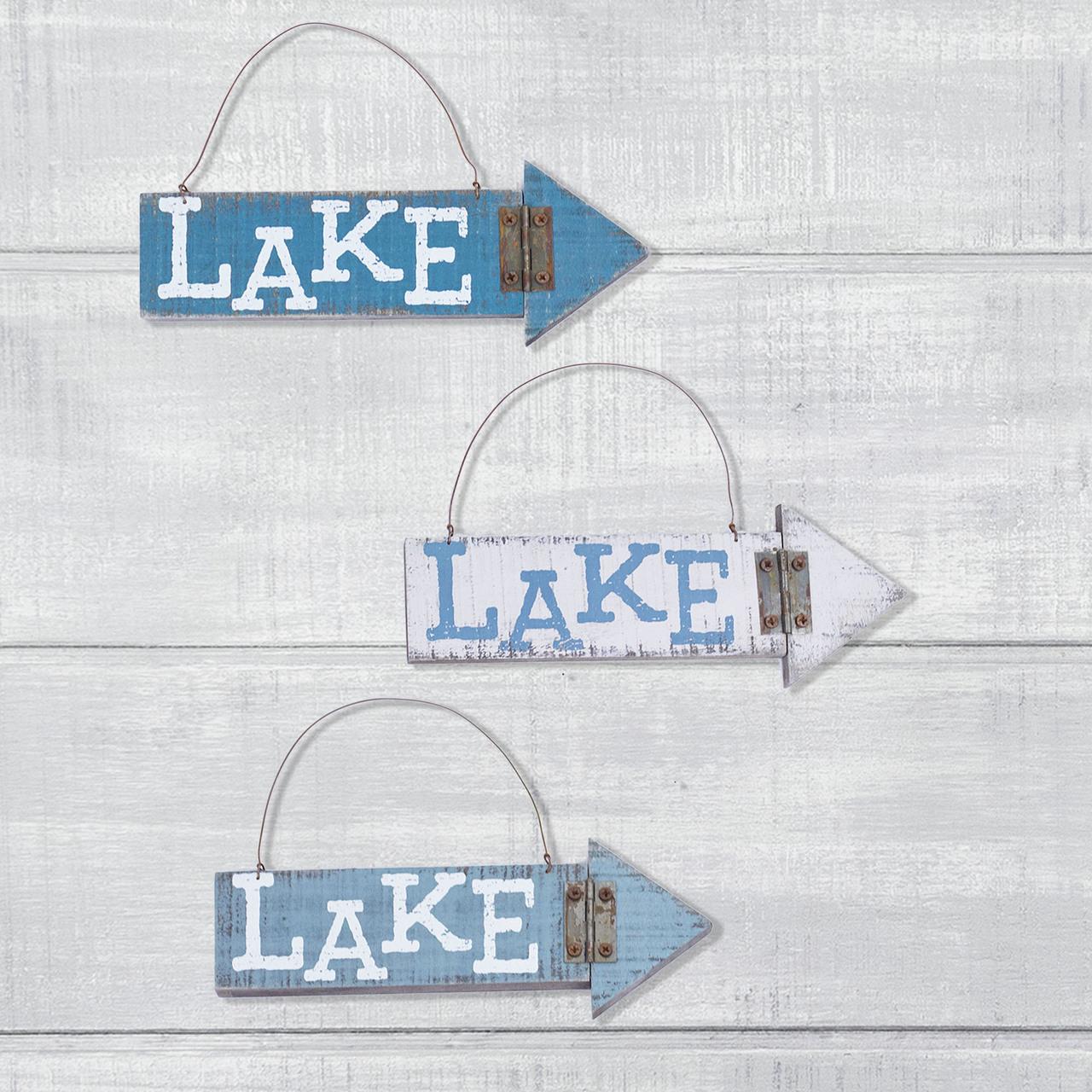 E18134 Lake Arrow Ornament Set (3A)