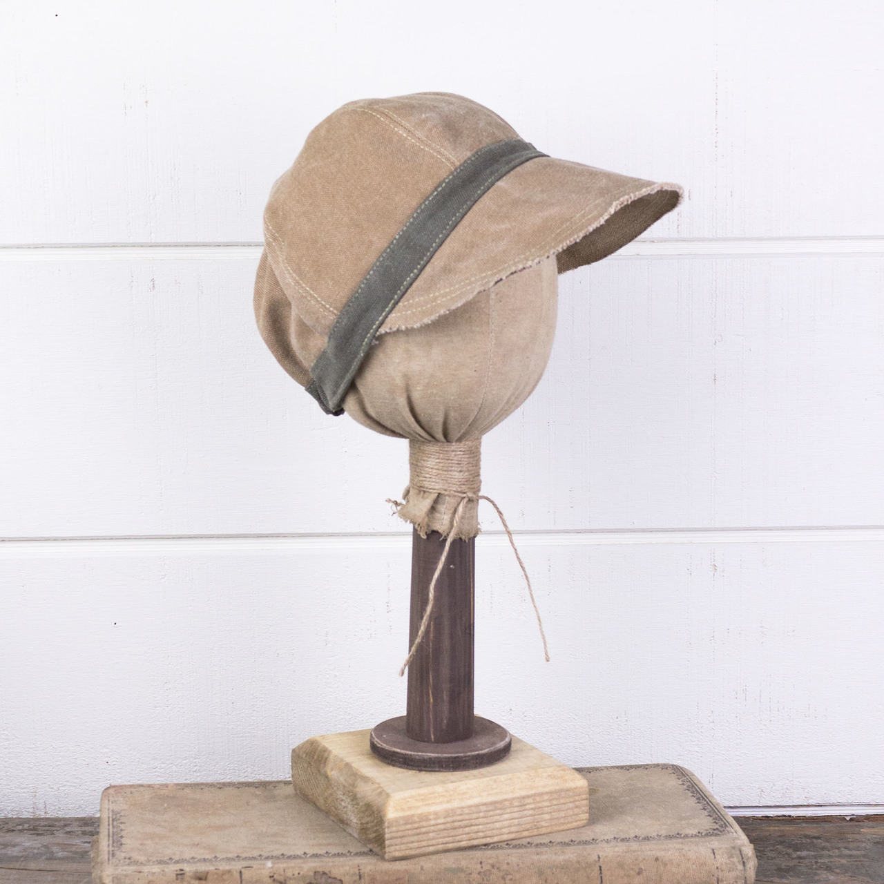 E181424 Maya - Canvas Newsboy Hat