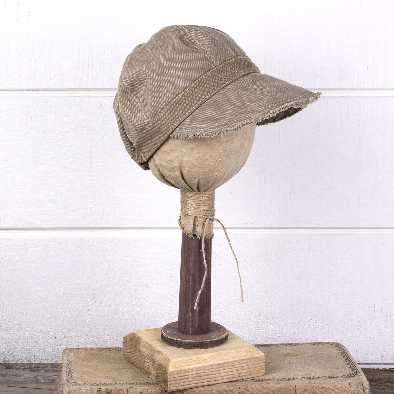 E181425 Priscilla - Canvas Newsboy Hat