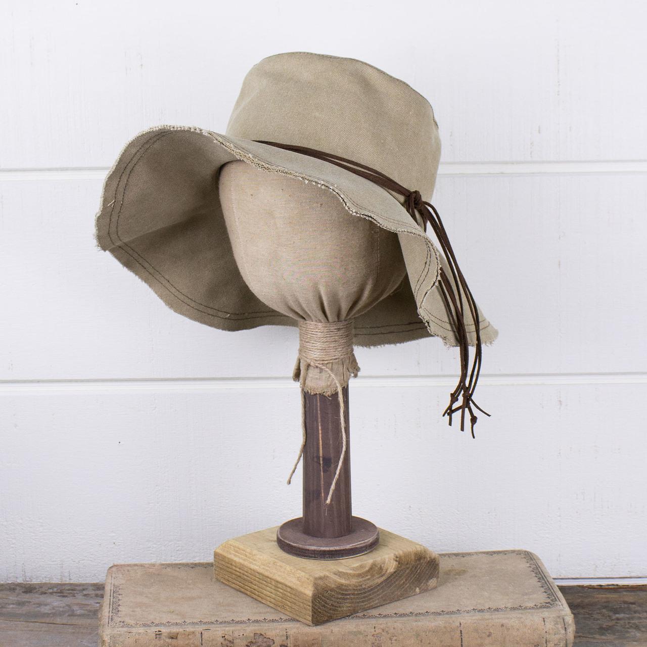 E181428 Hannah - Canvas Boho Hat