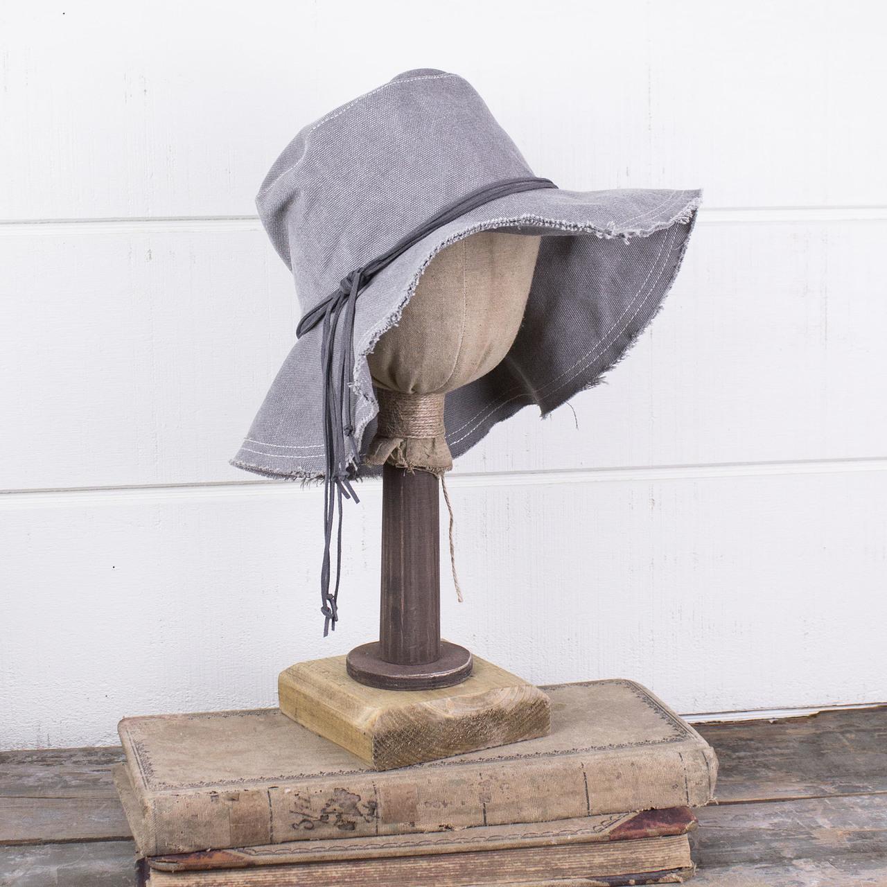 E181429 Nicole - Canvas Boho Hat