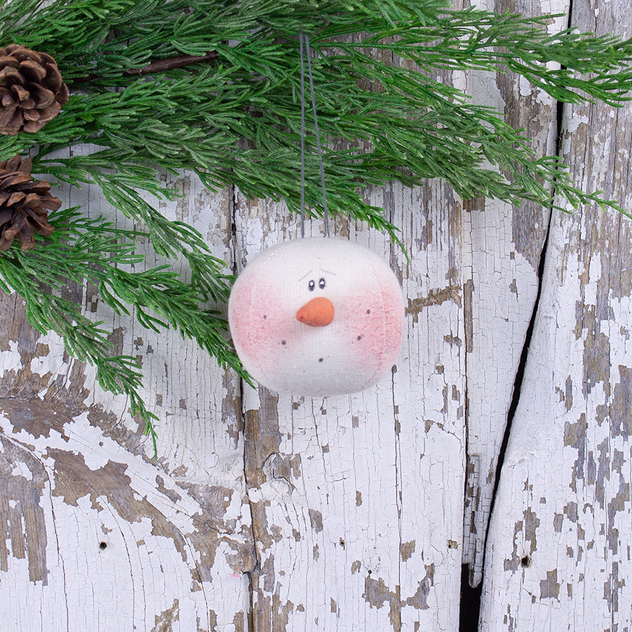 C19771 Small Snowman Head Ornament