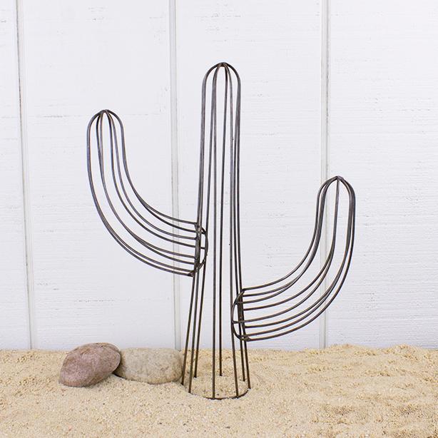 E19605 Medium Wire Saguaro Cactus