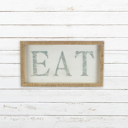 E19780 Large Horizontal EAT Sign