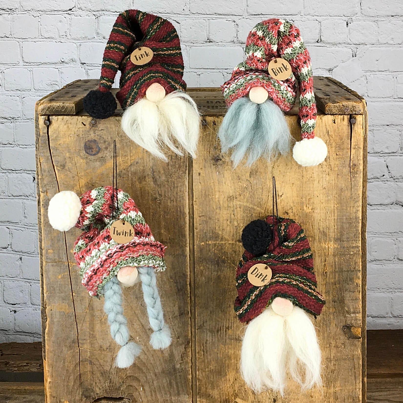 C20412 Gnome Ornament Set (4A)