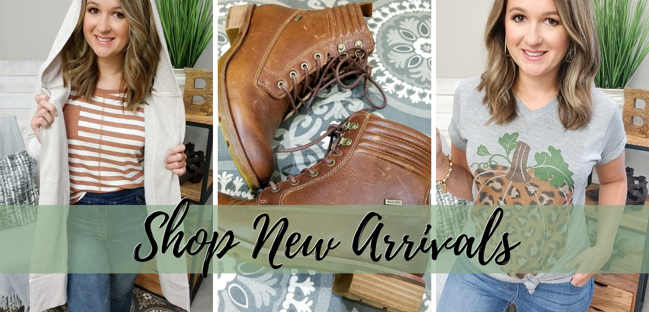 New Arrivals for Fall