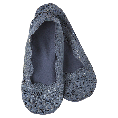 LACEY FOOTSIE - CHARCOAL