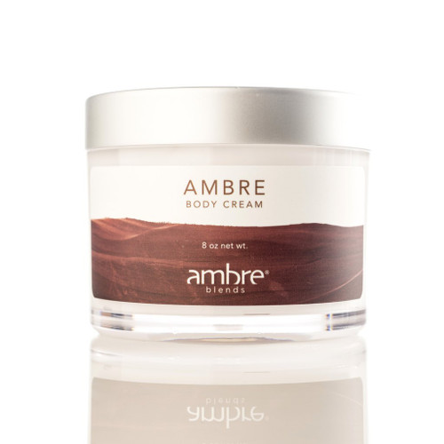 8 OZ BODY CREAM - AMBRE