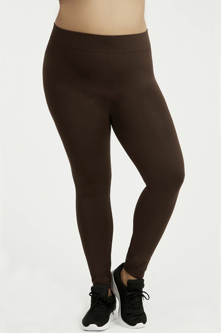 FLEECE LEGGINGS  - OLIVE