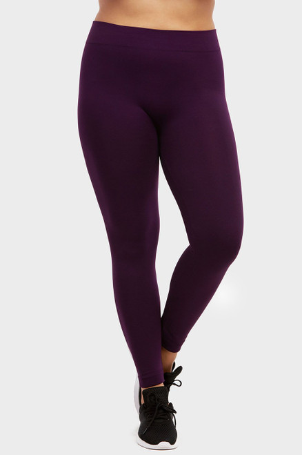 FLEECE LEGGINGS - PLUS