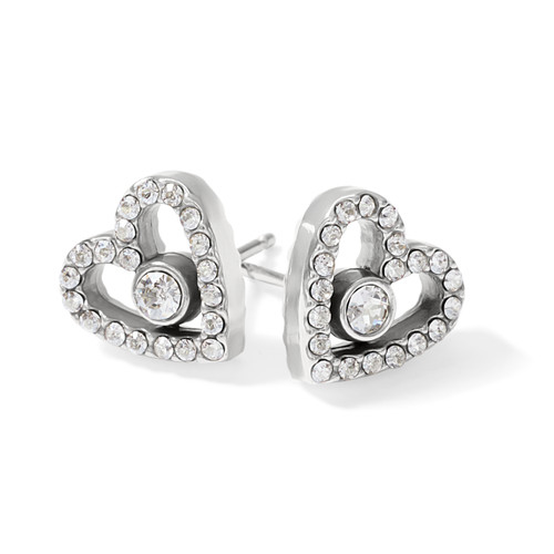 ILLUMINA LOVE POST EARRINGS -
