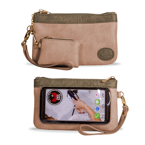 CATCHY CLUTCH - JUST PEACHY