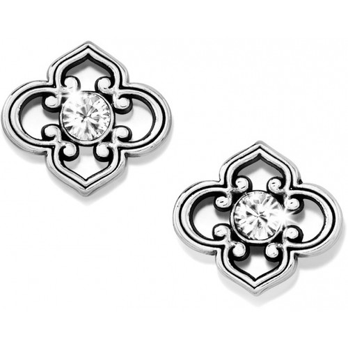 TOLEDO  POST EARRINGS - SILVER