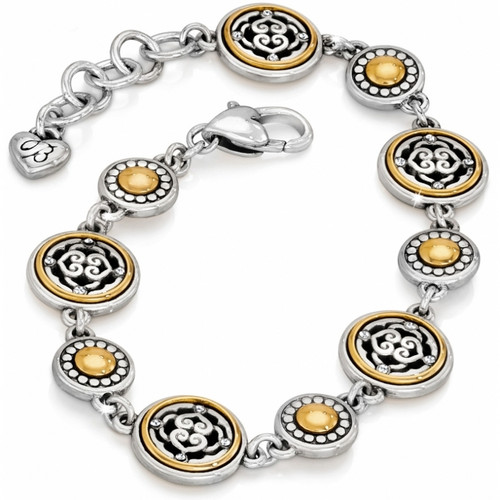 INTRIGUE BRACELET - SILVER-GOLD