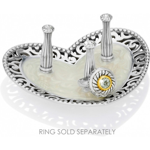 LACIE DAISY 3 RING HOLDER - SILVER