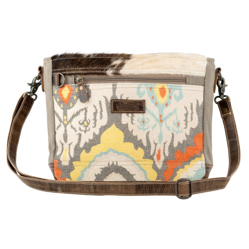 UP-CYCLED SMALL CROSSBODY - COCONUT