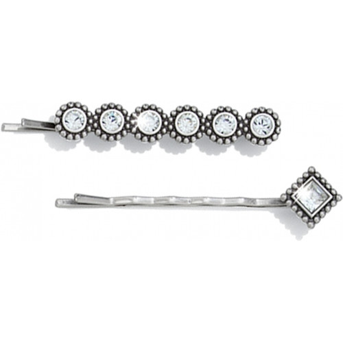 TWINKLE BOBBY PINS - SILVER