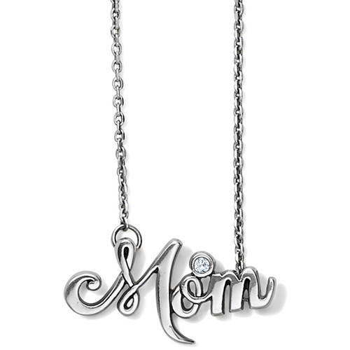 PENSCRIPT MOM NECKLACE - SILVER