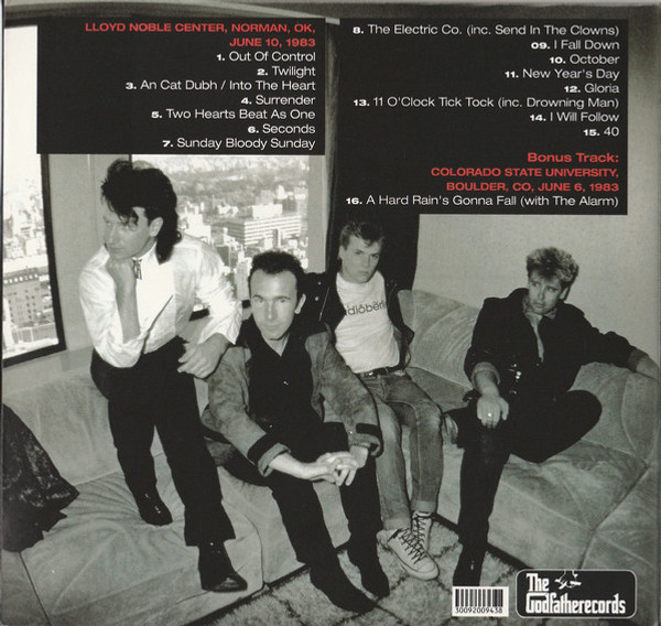 U2 - HOLD ON TIGHTLY [DIGIPAK] (1CD) THE GODFATHER RECORDS