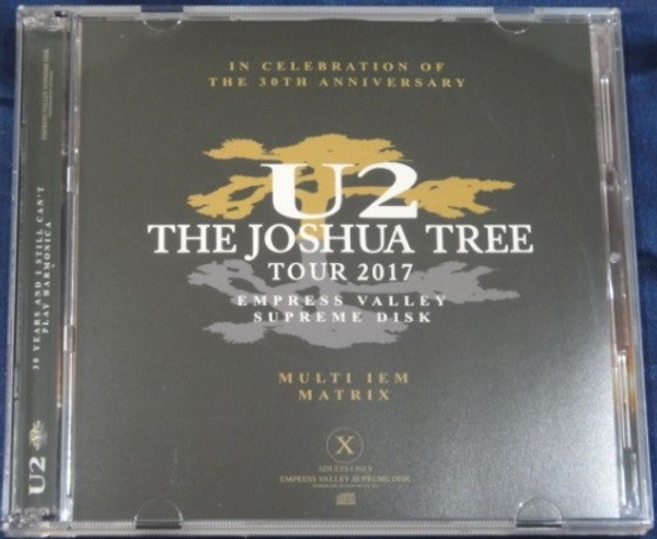 U2 - TAKE THE FUCKING ROOF OFF (2CD) EMPRESS VALLEY SUPREME DISC