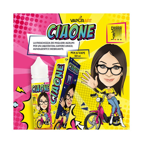 Vaporart Ciaone by Chiara Moss - Mix and Vape - 50ml