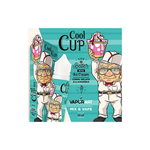 Vaporart Cool Cup - Mix and Vape - 50ml