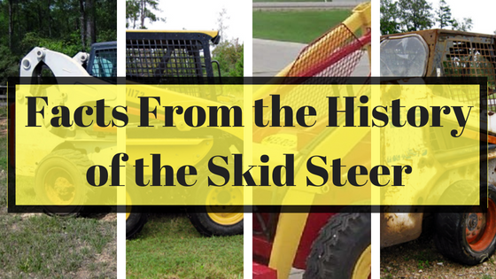 Facts from the History of the Skid Steer