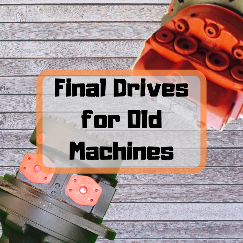Final Drives for Old Machines