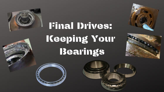 Final Drive Floating Face Seals - Final Drive Parts - Hydraulic
