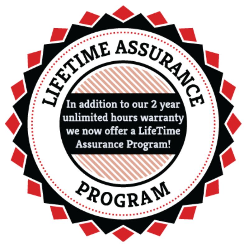 Lifetime Assurance Program for Final Drives